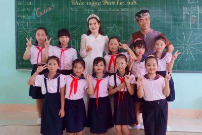 Trường TH Nguyễn Bá Ngọc tổ chức Vui Tết Trung thu
