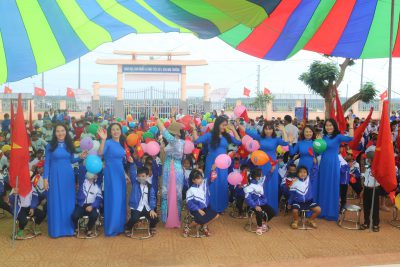 Trường Tiểu học Nguyễn Bá Ngọc khai giảng năm học mới 2020-2021.